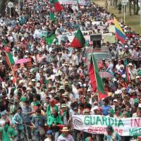 Minga social y comunitaria por la defensa de la vida, el derecho a la protesta social y la jurisdicción especial indígena.